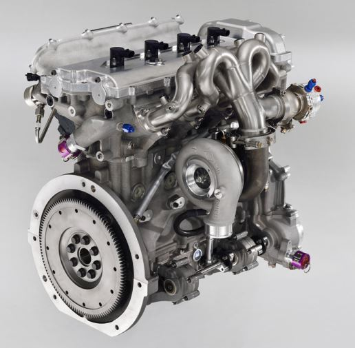Toyota Hybrid System-Racing engine rear.jpg